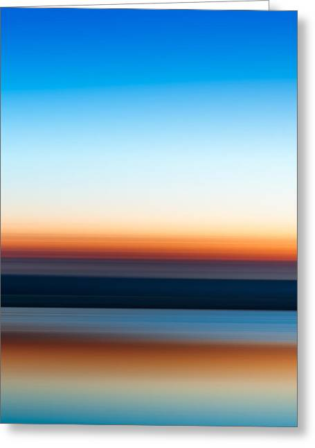 Sunset At Ottawa Lake Greeting Card by Scott Norris