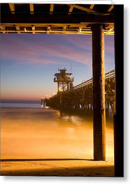 Sunset At San Clemente Greeting Card