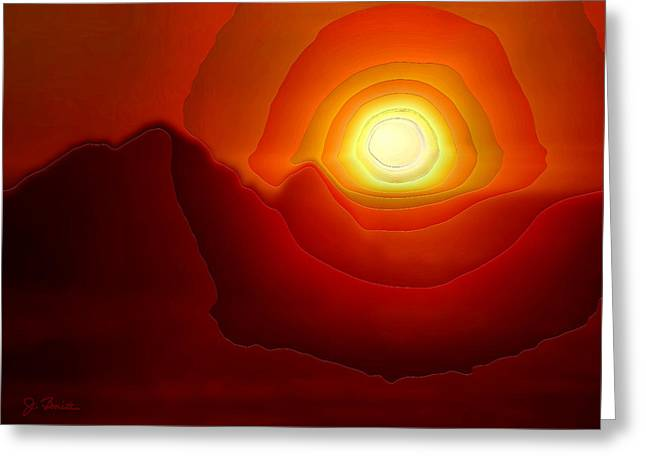 Sunset At Seal Rocks No. 3 Greeting Card by Joe Bonita
