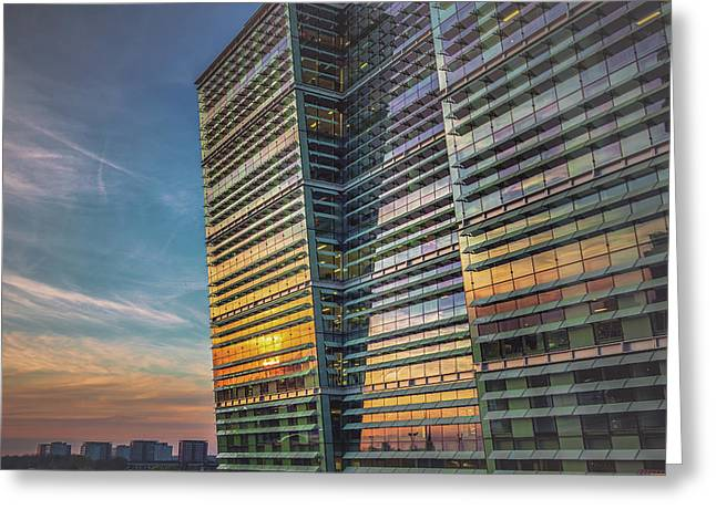 Sunset At Snowhill Greeting Card