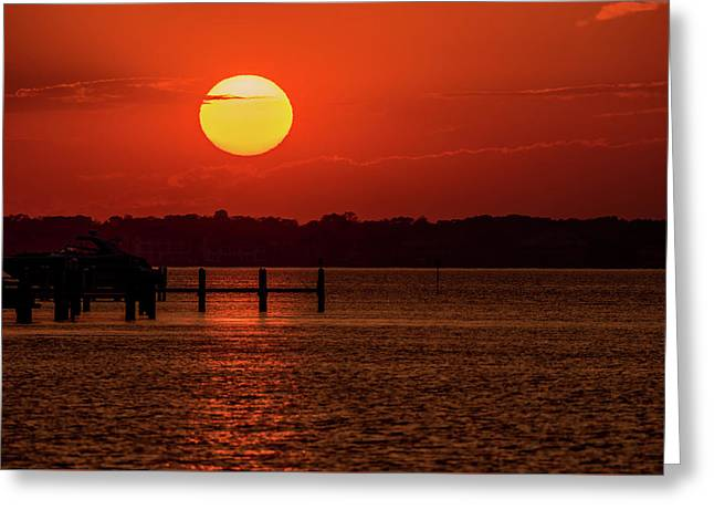 Sunset Bay Lavallette Nj 2016 Greeting Card