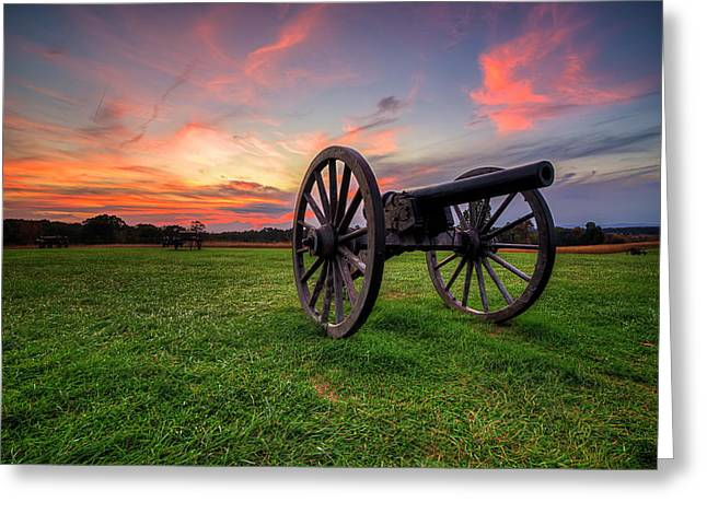Sunset Canon Greeting Card