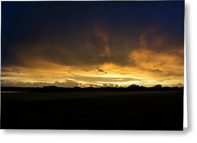 Greeting Card featuring the photograph Sunset Clouds by Brian Jones