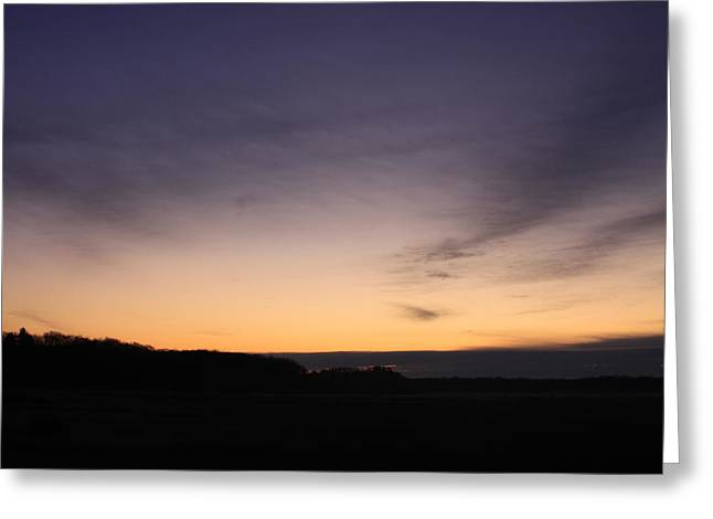 Sunset Clouds Greeting Card by Chuck Bailey