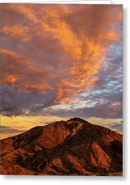 Sunset Color Greeting Card