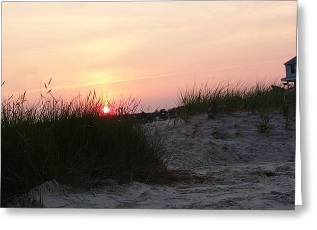 Sunset Dewey Beach Greeting Card by Kevin Callahan