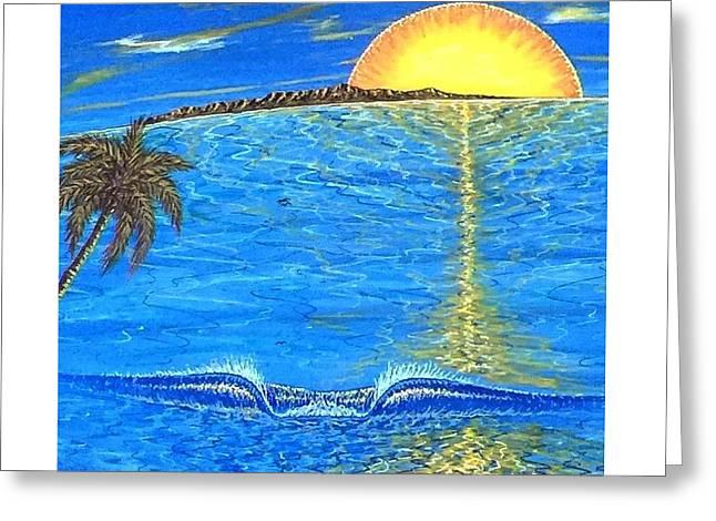 Sunset Dream Greeting Card