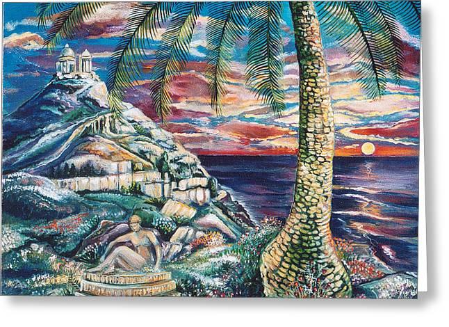 Sunset Dreams Greeting Card by John Keaton