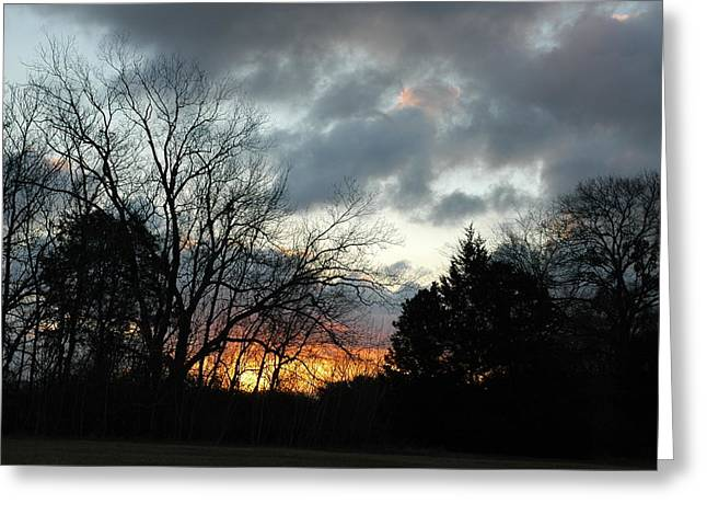 Greeting Card featuring the photograph Sunset Dreams by Kicking Bear  Productions