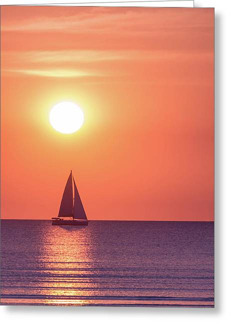Sunset Dreams Greeting Card