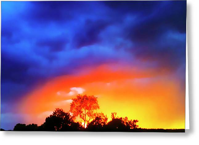 Sunset Extraordinaire Greeting Card
