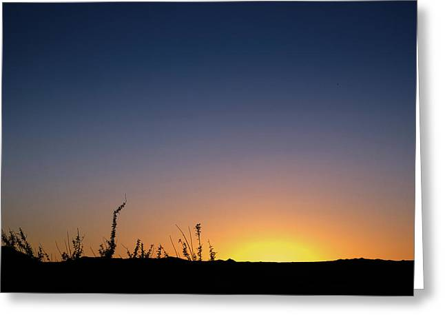 Sunset Fort Mohave Az Greeting Card