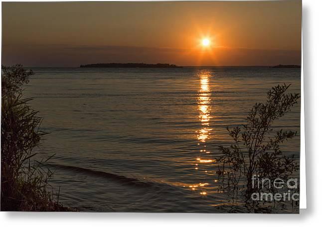 Sunset I Greeting Card