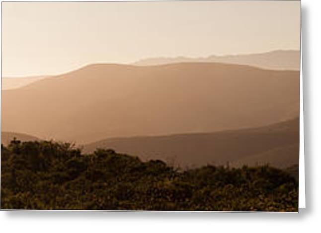 Sunset In California Greeting Card