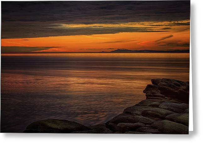 Sunset In May Greeting Card by Randy Hall
