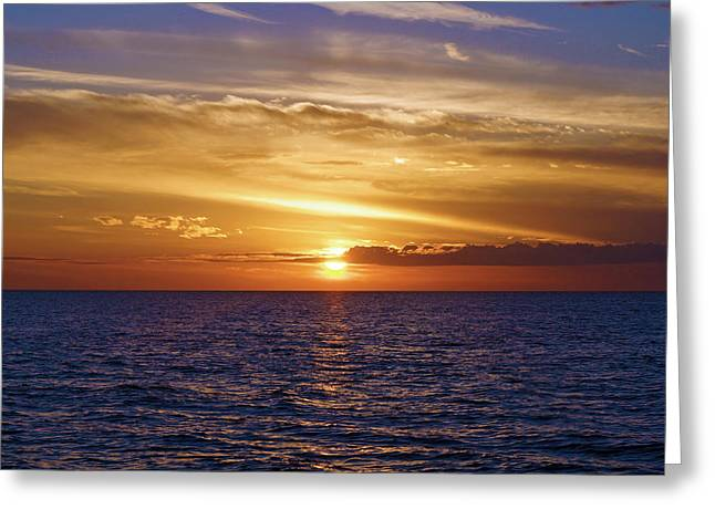 Sunset In Sw Florida Greeting Card
