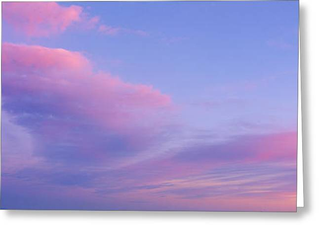 Sunset In Western Arizona Greeting Card by Panoramic Images