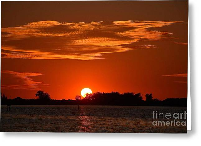 Sunset Greeting Card by Kevin Croitz