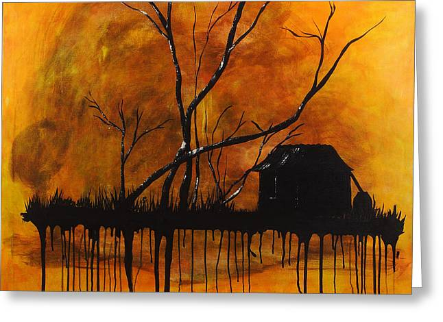 Sunset Moments Greeting Card by Nickola McCoy-Snell
