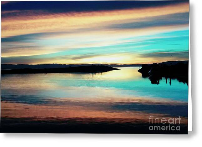Sunset Noctune Greeting Card
