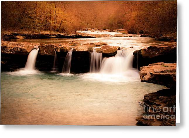 Sunset On King's River Greeting Card by Tamyra Ayles