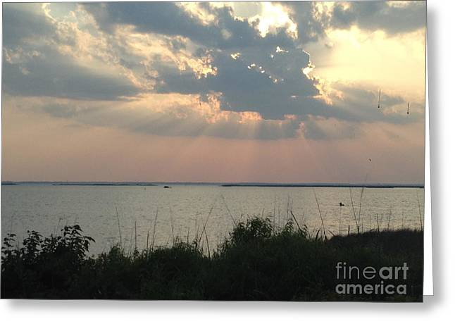 Sunset On The Outer Banks Greeting Card