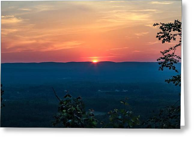 Sunset Over Easthampton Greeting Card