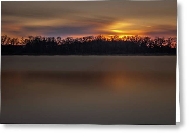 Sunset Over Little Sugarloaf II Greeting Card