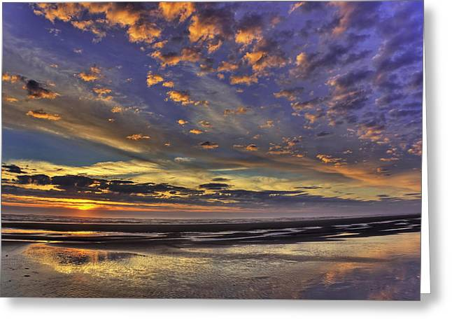 Sunset Paradise  Greeting Card