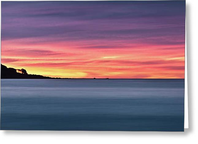 Sunset Penisular, Bunker Bay Greeting Card