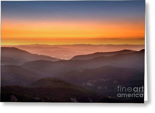 Sunset Point Greeting Card
