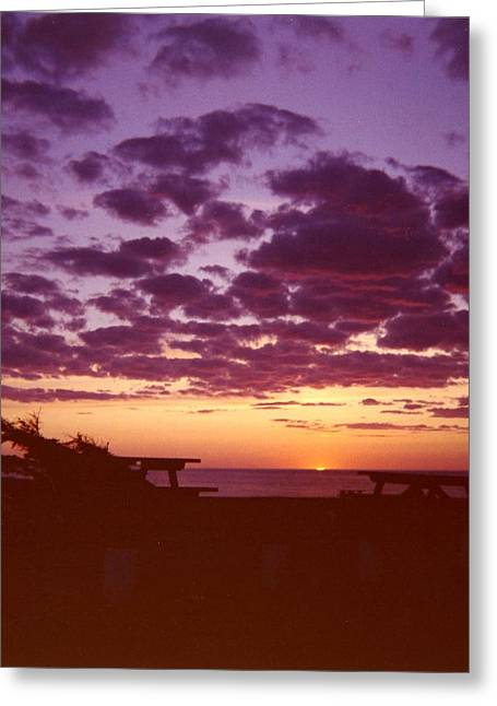 Sunset-prince Edward Island Greeting Card by Addie Hocynec