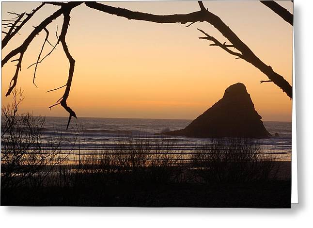 Sunset  Greeting Card by Scott Gould