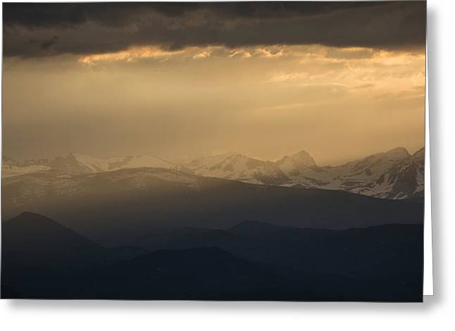 Greeting Card featuring the photograph Sunset Softness by Colleen Coccia