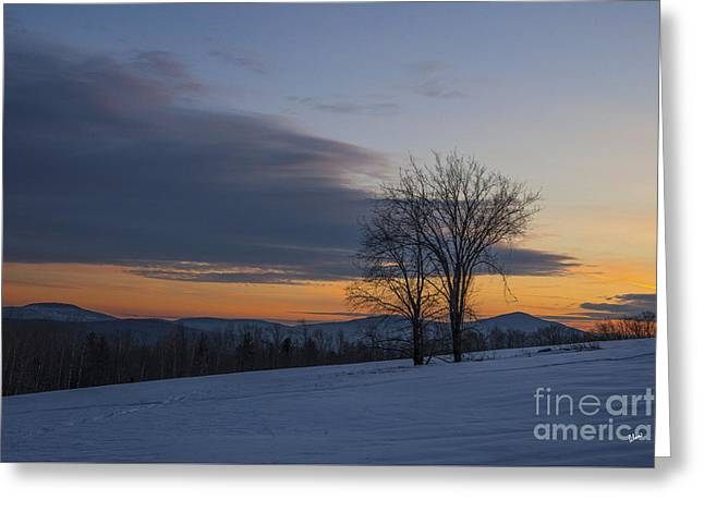 Sunset Solitude Greeting Card by Alana Ranney