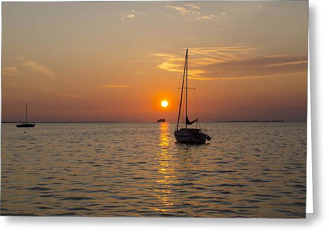 Sunset Southern Style Greeting Card by Bill Cannon