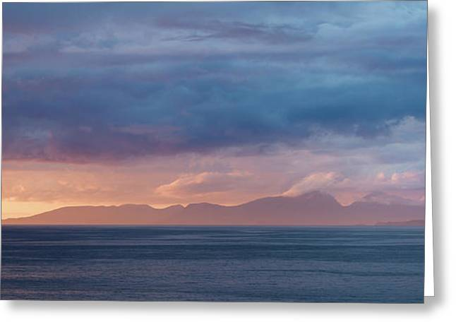 Sunset Squall Greeting Card