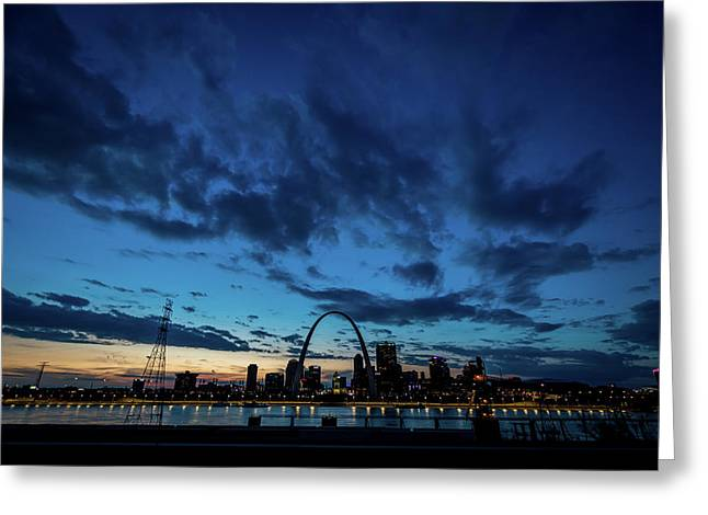 Sunset St. Louis IIi Greeting Card