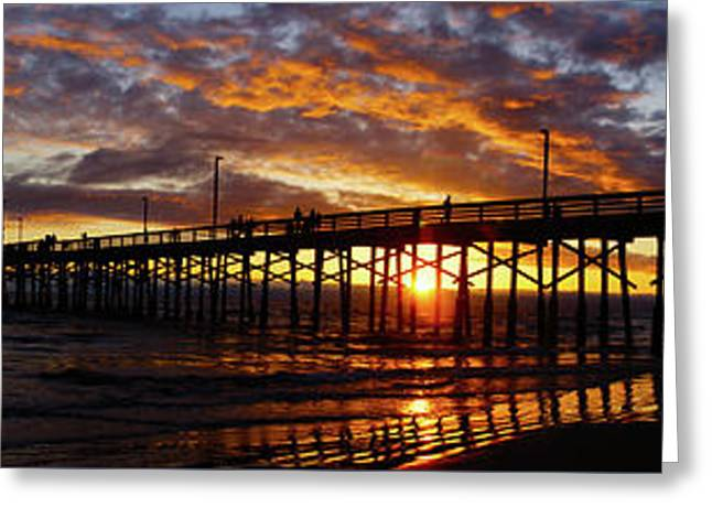 Greeting Card featuring the photograph Sunset  by Thanh Thuy Nguyen