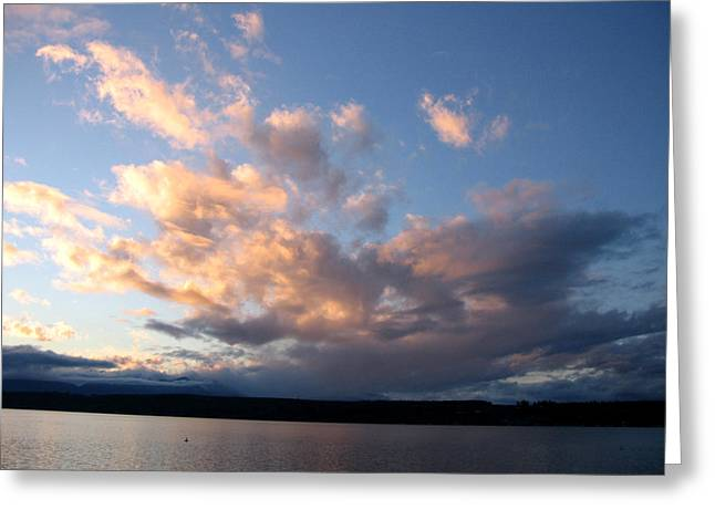 Sunset Two Greeting Card by Ty Nichols