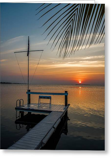 Sunset Villa Greeting Card