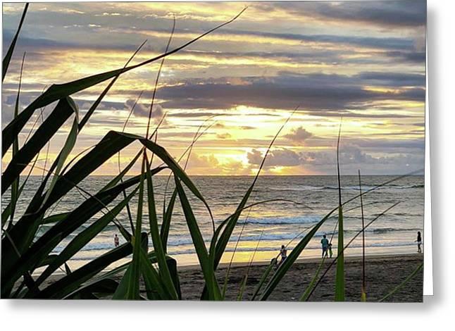 Sunsetsniper Greeting Card by Arya Swadharma