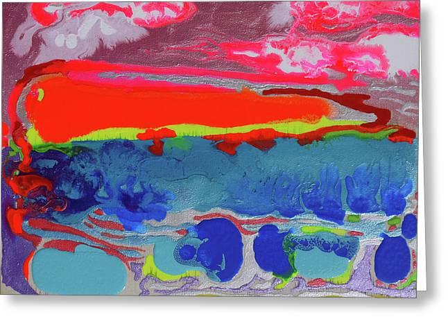 Sunsetting #2 Greeting Card by Joseph Demaree