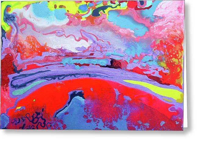 Sunsetting #8 Greeting Card by Joseph Demaree