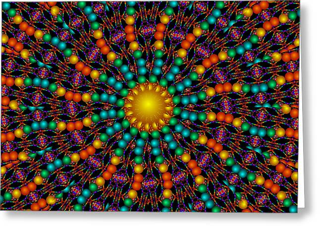 Greeting Card featuring the digital art Sunshine Daydream by Robert Orinski