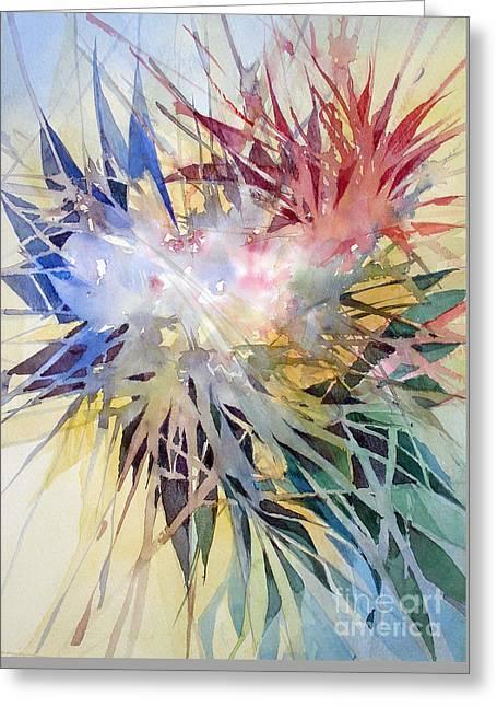 Sunshine Greeting Card by Natalia Eremeyeva Duarte