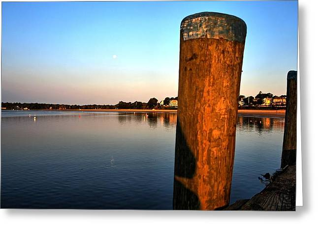 Sunshine On Onset Bay Greeting Card