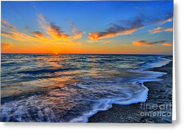 Greeting Card featuring the photograph Sunshine Skies by Scott Mahon