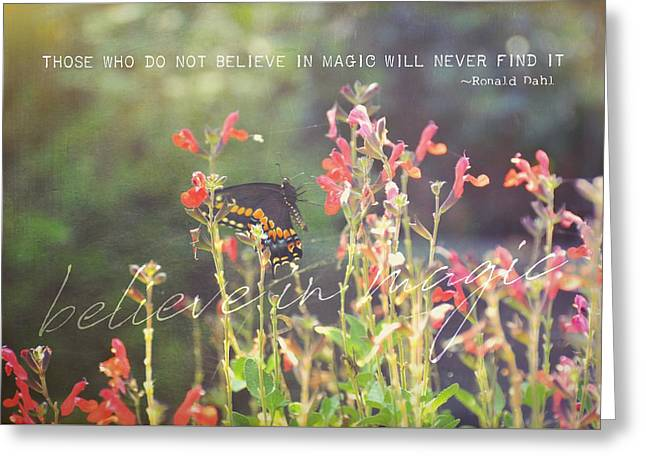 Sunstruck Quote Greeting Card by JAMART Photography