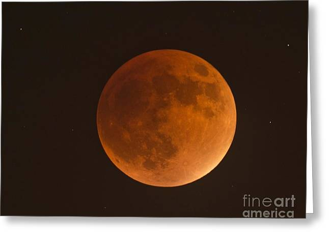 Super Blood Moon Greeting Card